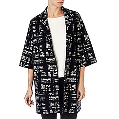Phase Eight - Jasleen jacquard knit coat