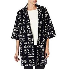 Phase Eight - Jasleen jacquard knit coat