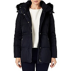 Phase Eight - Keela fur trim puffer