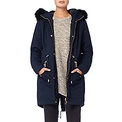 Phase Eight - Navy erika smart parka