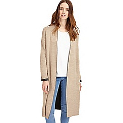 Phase Eight - Natural cream Gianina Dbl-faced knit coat