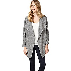 Phase Eight - Grey fausta fleck knitted coat