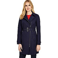 Phase Eight - Navy tabatha zip trench coat