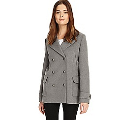 Phase Eight - Grey 'Pippa' pea coat