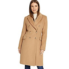 Phase Eight - Cream 'Catarina' crombie coat