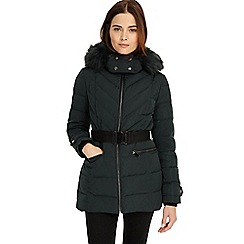 Phase Eight - Ceren chevron puffer jacket