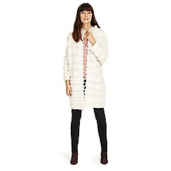 Phase Eight - Filippa fringe knit coat