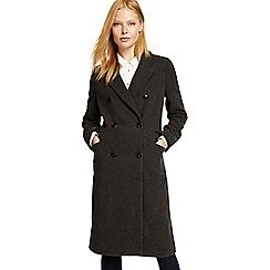 Phase Eight - Grey Hadley herringbone crombie coat