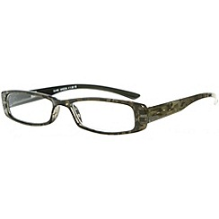 Sight Station - Dune khaki fashion reading glasses