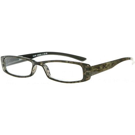 Sight Station - Dune khaki fashion reading glasses