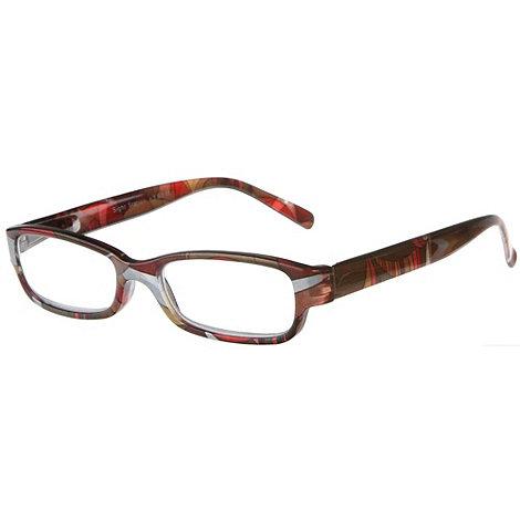 Sight Station - Liberty green fashion reading glasses