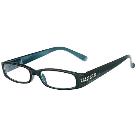 Sight Station - Regency petrol fashion reading glasses