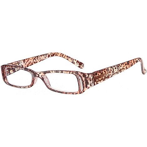 Sight Station - Savanna umber fashion reading glasses