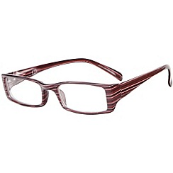 Sight Station - Saville brown fashion reading glasses