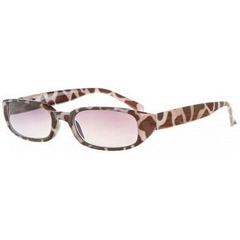Sight Station - Kenya brown reading sunglasses - two in one sunglasses and reading glasses