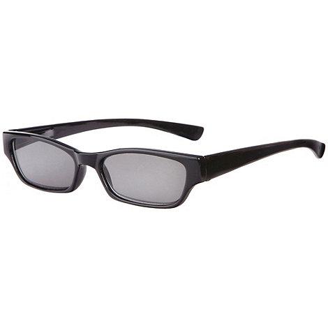 Sight Station - Tropez black reading sunglasses - two in one sunglasses and reading glasses