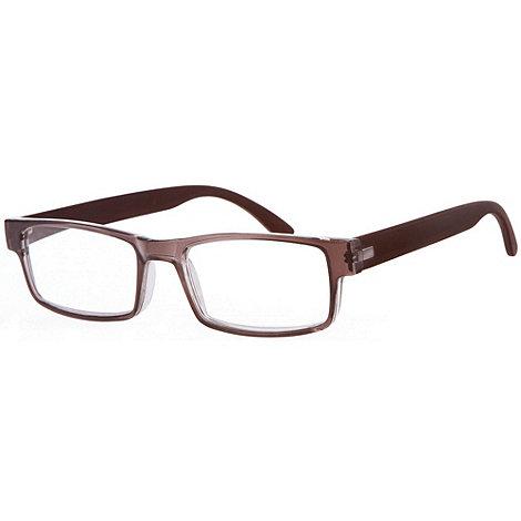 Sight Station - Kent grey fashion reading glasses