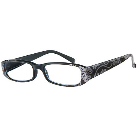 Sight Station - Rococo silver fashion reading glasses