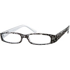 Sight Station - Mogul grey fashion reading glasses