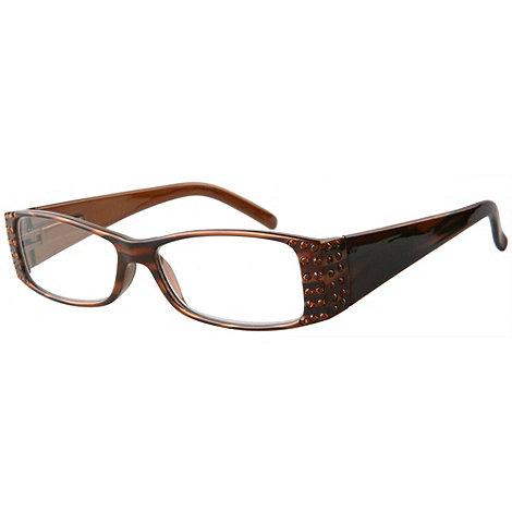 Sight Station - Bella brown fashion reading glasses
