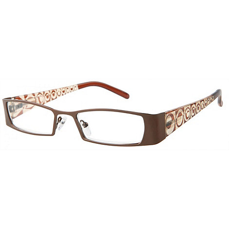 Sight Station - Eclipse brown fashion reading glasses