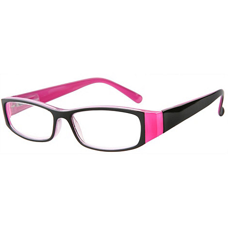 Sight Station - Genevieve pink fashion reading glasses