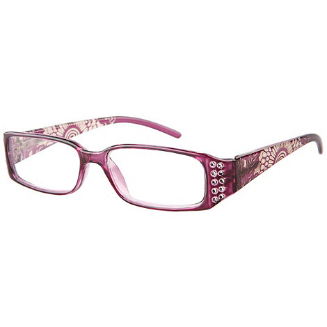 Sight Station - Saigon purple fashion reading glasses