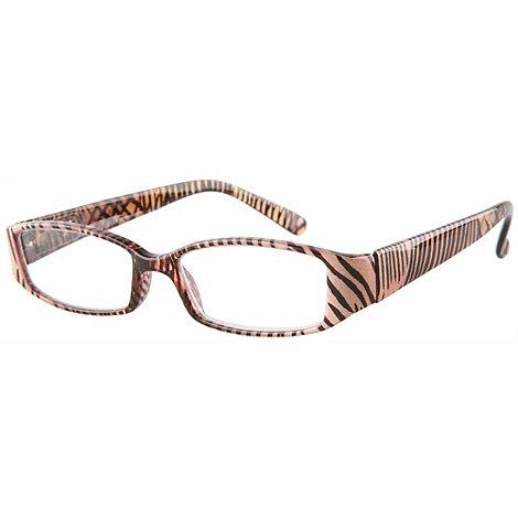 Sight Station - Serengeti brown fashion reading glasses