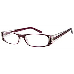 Sight Station - Tiffany purple fashion reading glasses