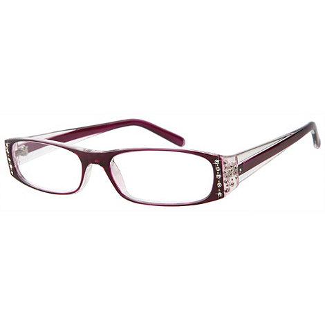 Sight Station - Tiffany purple fashion reading glasses