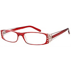 Sight Station - Tiffany red fashion reading glasses