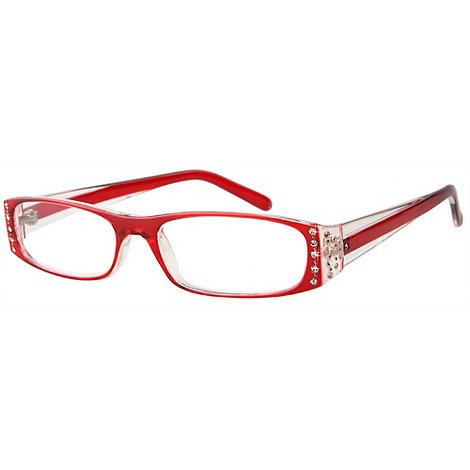 Sight Station - Tiffany red fashion reading glasses