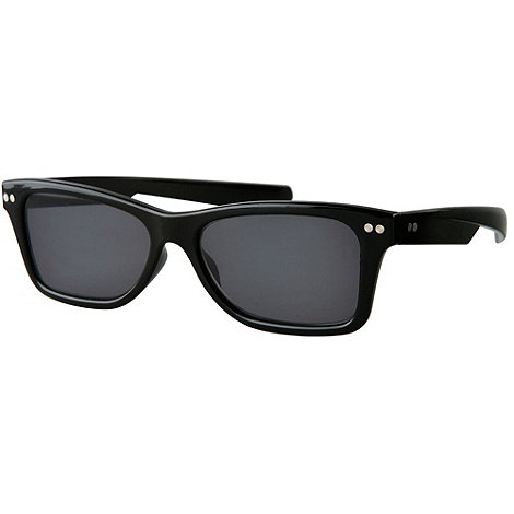 Sight Station - Dean black reading sunglasses - two in one sunglasses and reading glasses