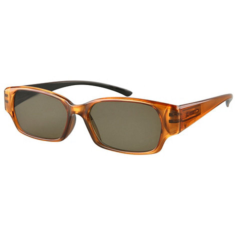 Sight Station - Vita brown reading sunglasses - two in one sunglasses and reading glasses