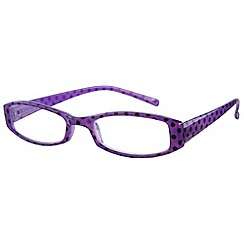 Sight Station - Pippa purple fashion reading glasses