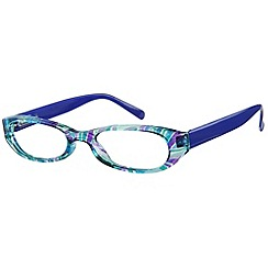 Sight Station - Puccini blue fashion reading glasses