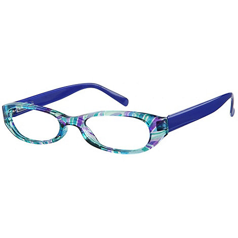 Sight Station - Puccini blue fashion reading glasses
