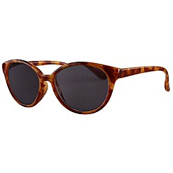 Sight Station - Audrey tortoiseshell reading sunglasses - two in one sunglasses and reading glasses