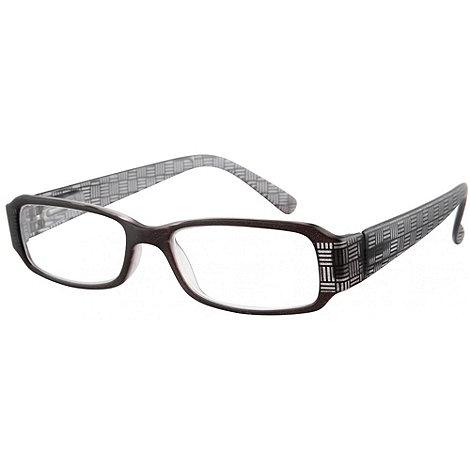 Sight Station - Parker black fashion reading glasses