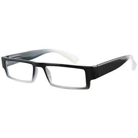 Sight Station - Caspian black fashion reading glasses