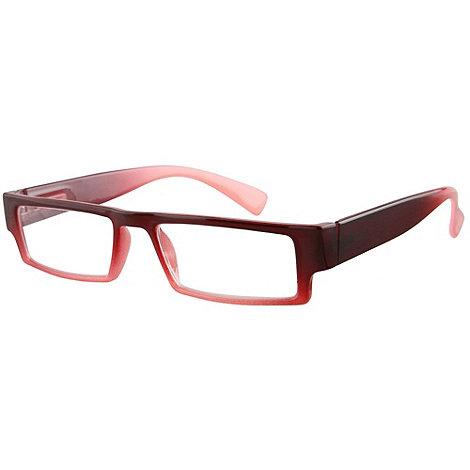 Sight Station - Caspian red fashion reading glasses