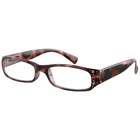 Sight Station - Elsa brown fashion reading glasses