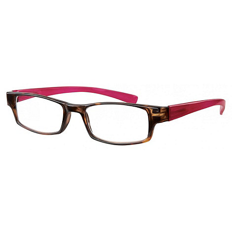 Sight Station - Barclay pink fashion reading glasses