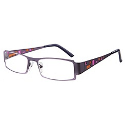 Sight Station - Cathedral purple fashion reading glasses