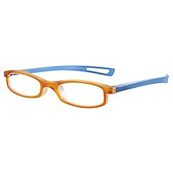 Sight Station - Darwin orange fashion reading glasses