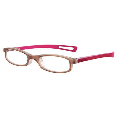 Sight Station - Darwin pink fashion reading glasses