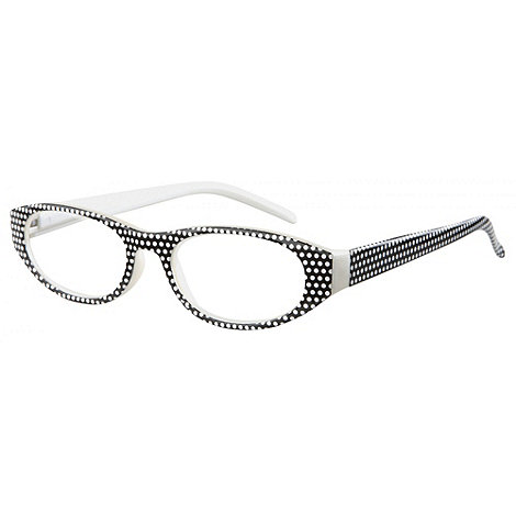 Sight Station - Georgia black fashion reading glasses