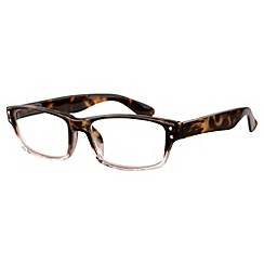 Sight Station - Murdock tortoiseshell fashion reading glasses