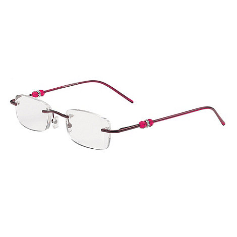 Sight Station - Carla red fashion reading glasses