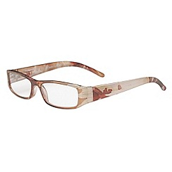 Sight Station - Monet beige fashion reading glasses